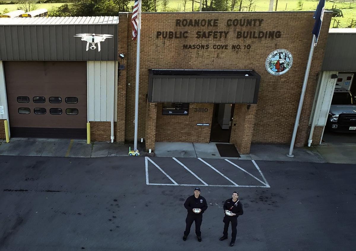 Roanoke County drones