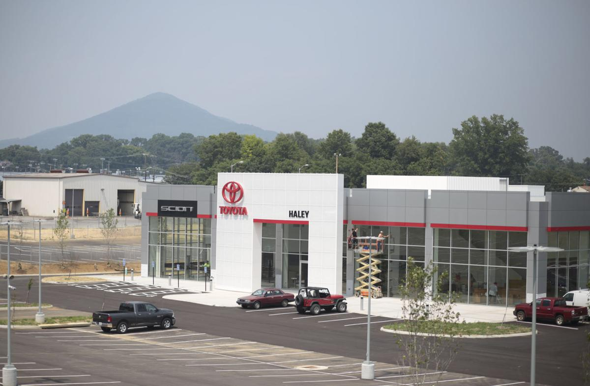 Haley toyota move adds to williamson road s car market business roanoke com