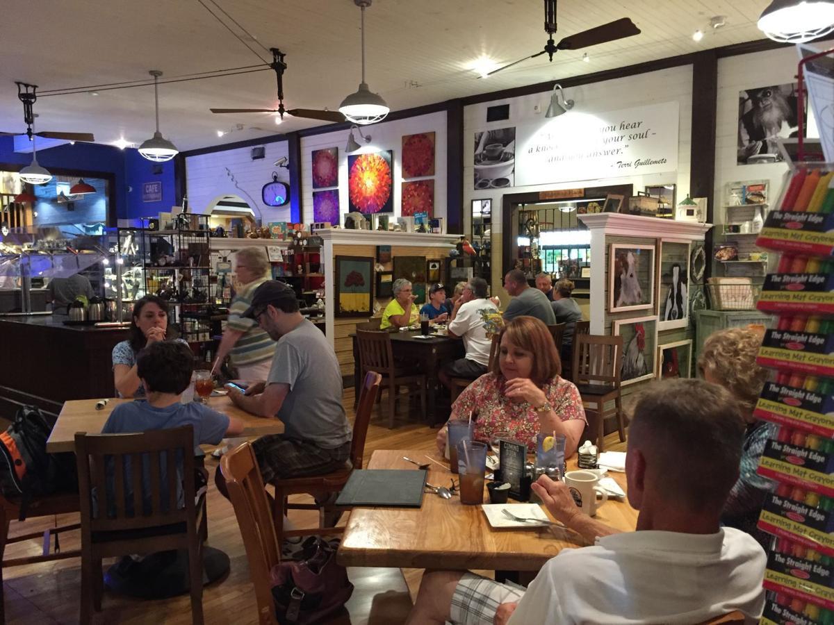 Mercantile Blue Door Cafe Menu