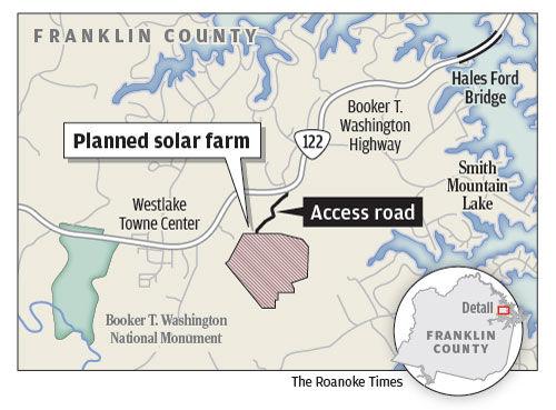Planned Westlake Solar Farm
