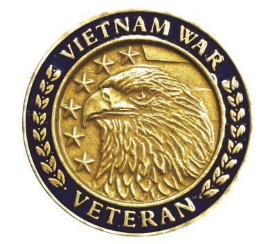Vietnam War Commemorative Pin