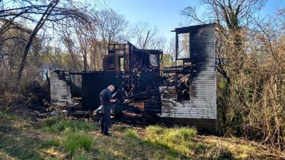 Campbell house fire