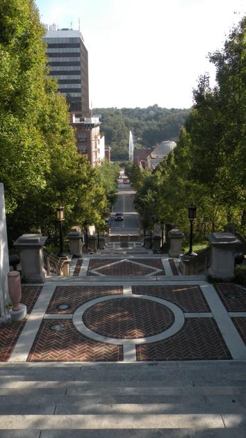 Lynchburg: Lively downtown, lively cemetery