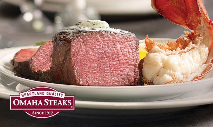 prepare a valentine's day feast at home with this omaha steaks deal