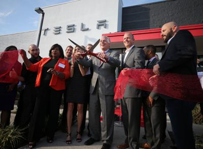 Tesla opening store in Henrico on Friday morning | Business