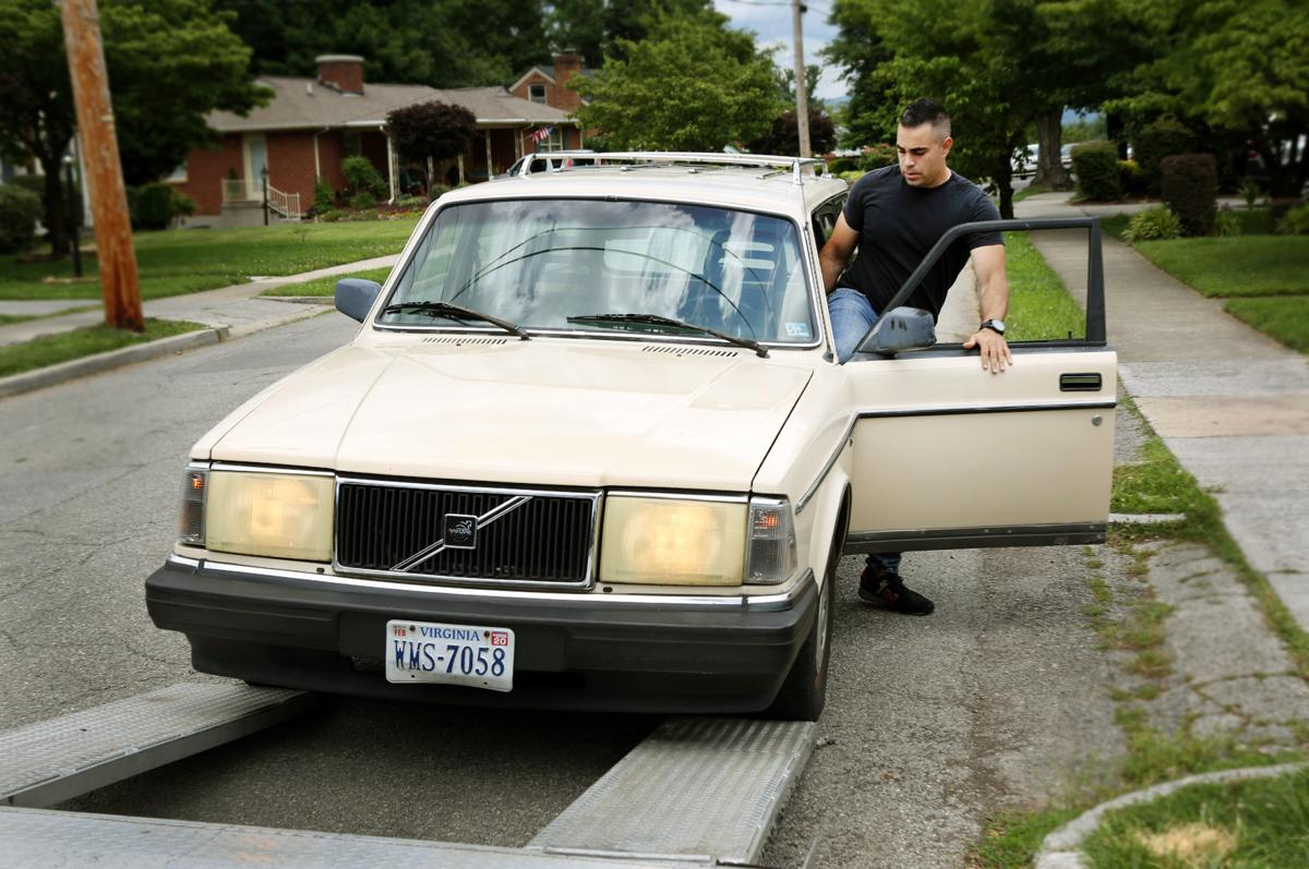Casey Is My Son S Old Volvo Headed For Hollywood Fame