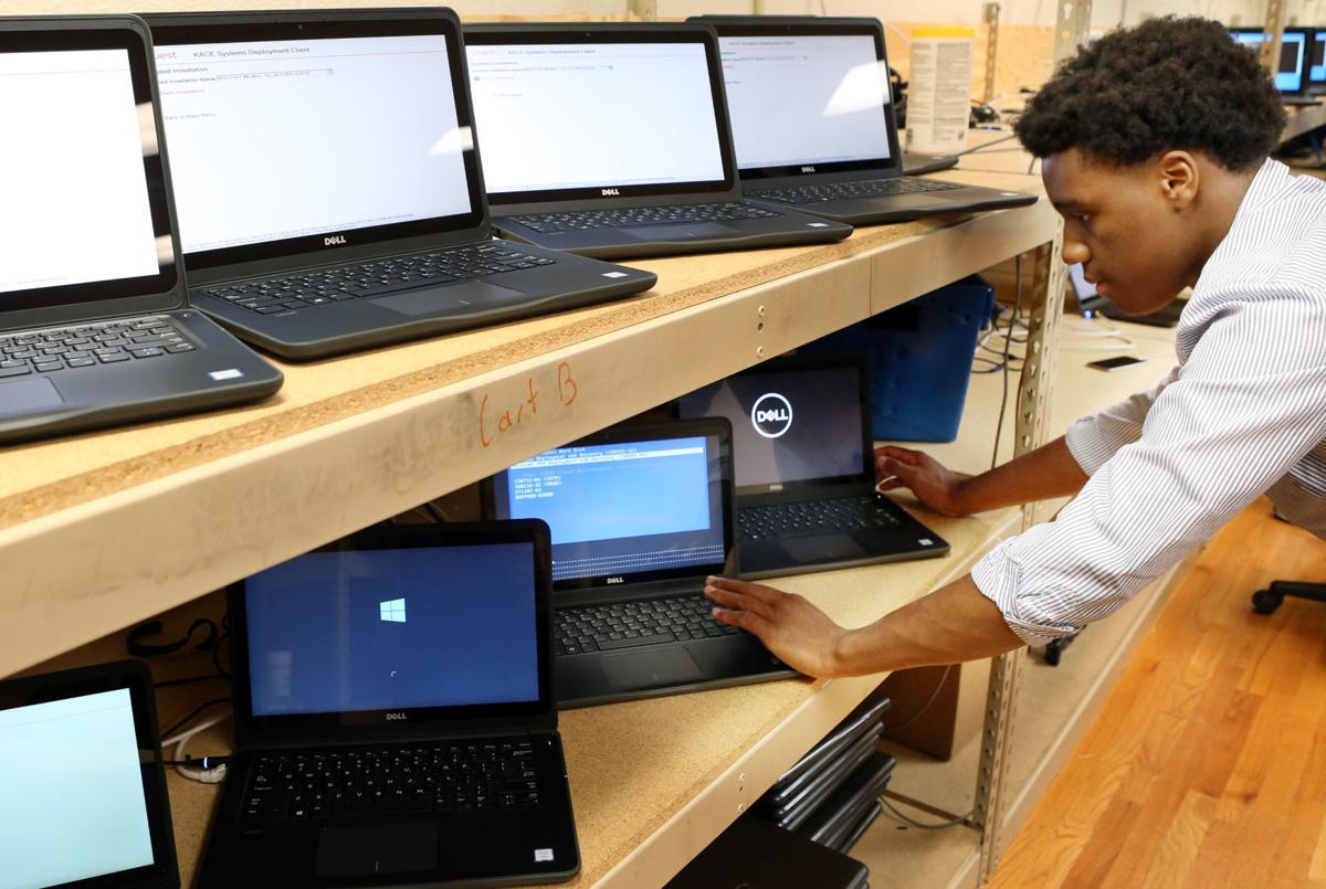A summer of 10,000 screens: Teens learn, earn in prepping