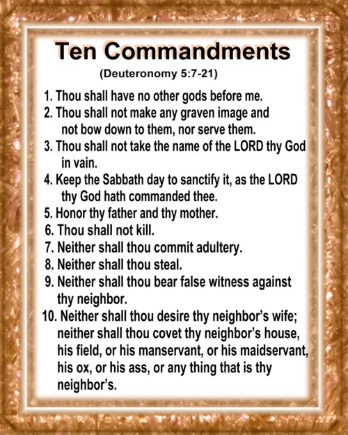 what is the purpose of the ten commandments in christianity