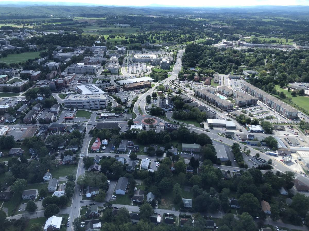 Blacksburg aerial