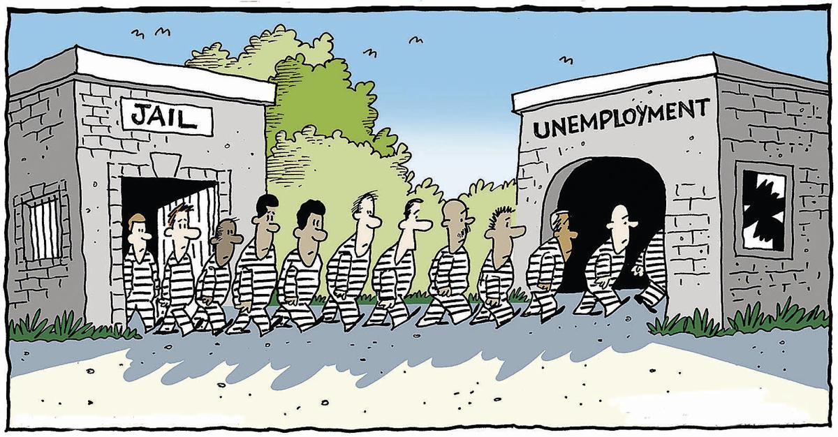 unemployment toon
