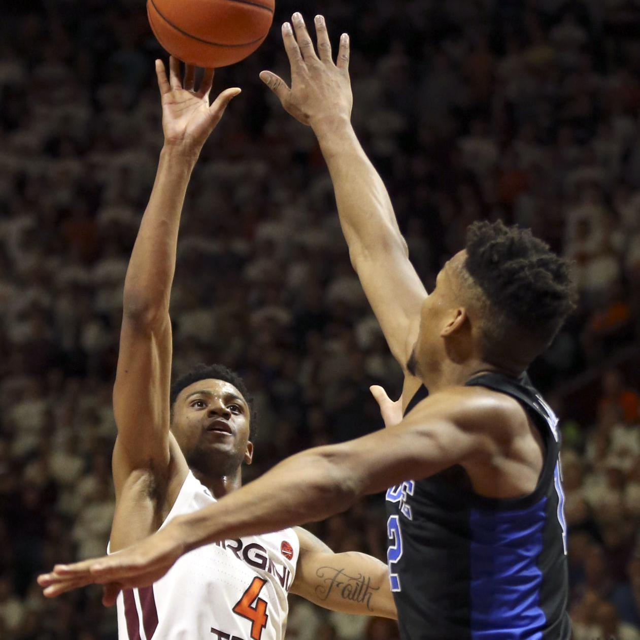 Virginia Tech Will Face Duke Again This Time With Zion Virginia Tech Roanoke Com