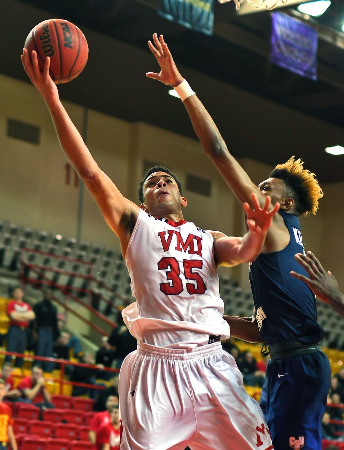 VMI men's basketball ends 6-game slide, tops Charleston ...