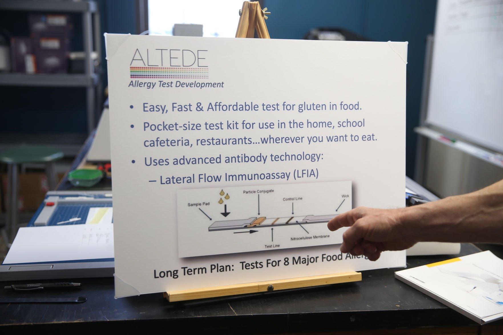 Blacksburg entrepreneurs inventing test kit to help