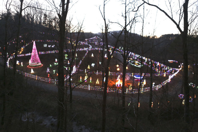Christmas Lights Roanoke Va 2020 Back Creek Road light display becomes Christmas tradition | Local