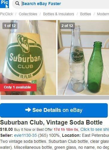 WOYM: Information elusive on old Suburban Club pop bottle's Roanoke back story