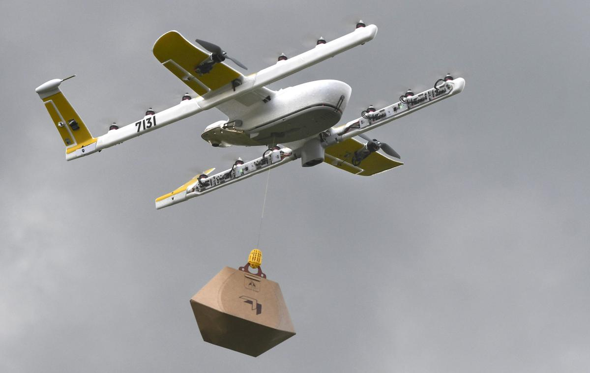 Country's first long-distance, residential drone delivery