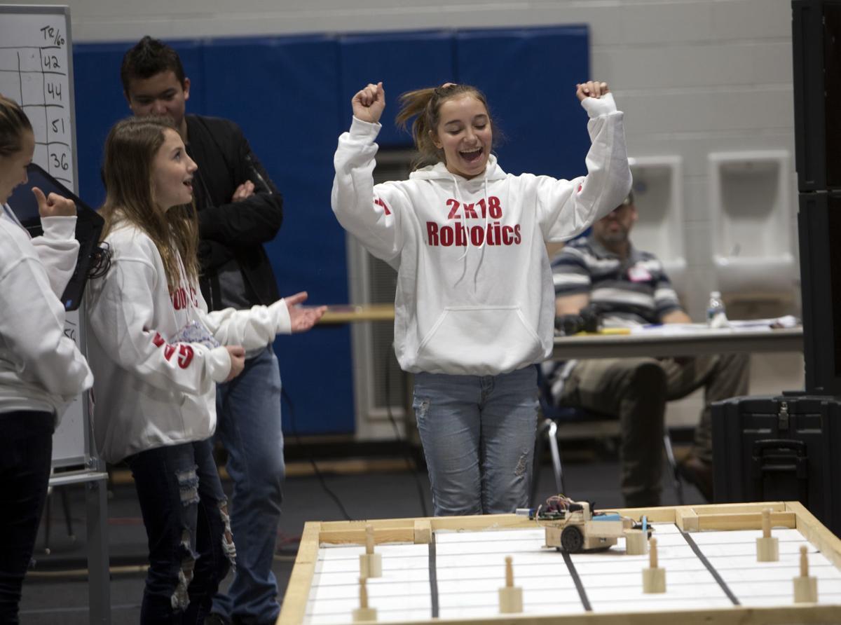 Photos From The Vwcc Autonomous Robot Competition Photo Roanoke Com
