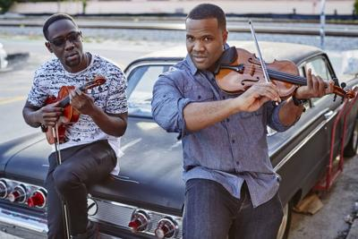 Black Violin brings classical / hip-hop mix to the Harvester