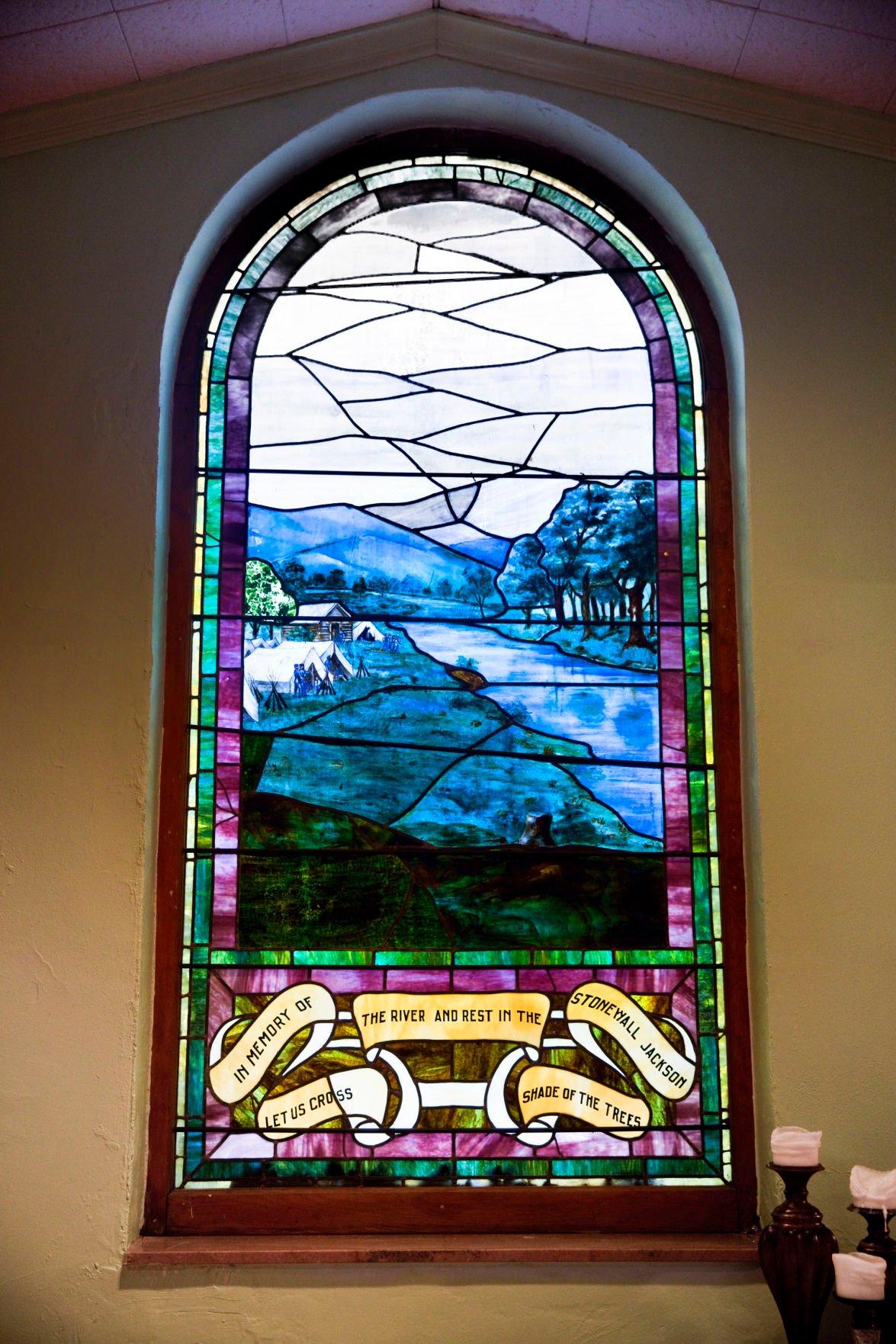 Stonewall Jackson window