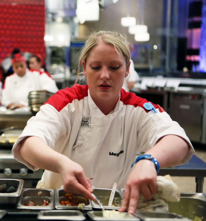 Roanoke Chef Meghan Gill In Charge On Hell S Kitchen Arts Roanoke Com