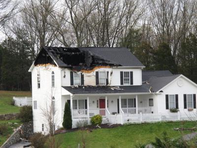 Fincastle house catches fire following lightning strike | Local News