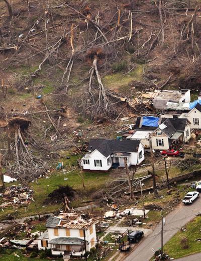 Pulaski county Tornado