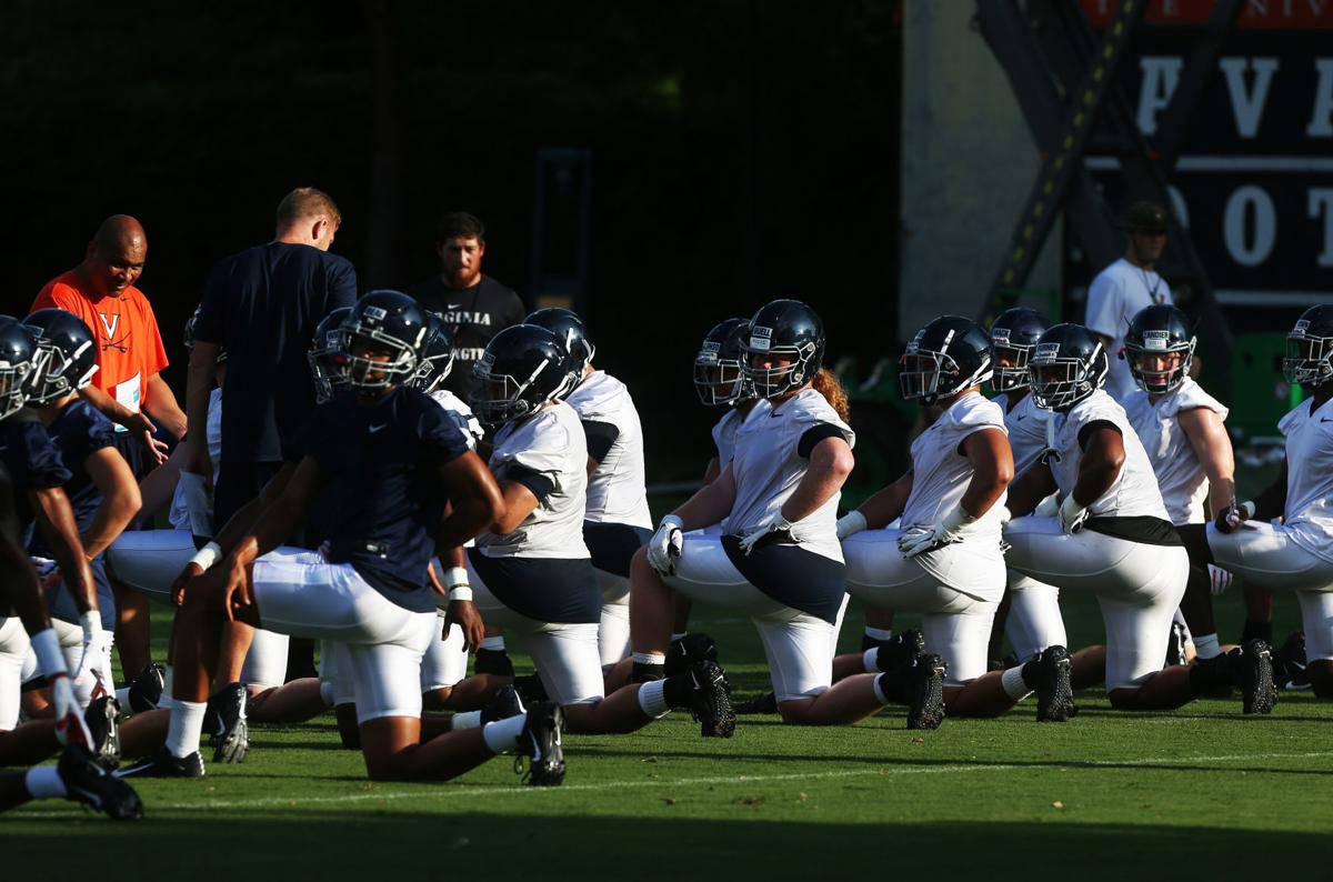 Uva Football Cavs Open Fall Practice In Search Of Depth At