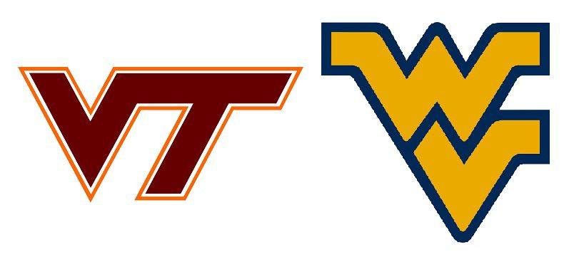 virginia tech west virginia opener at fedex moved to sunday sept 3 rh roanoke com wvu logo gear wv logos