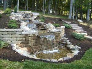 Let us build a water feature!