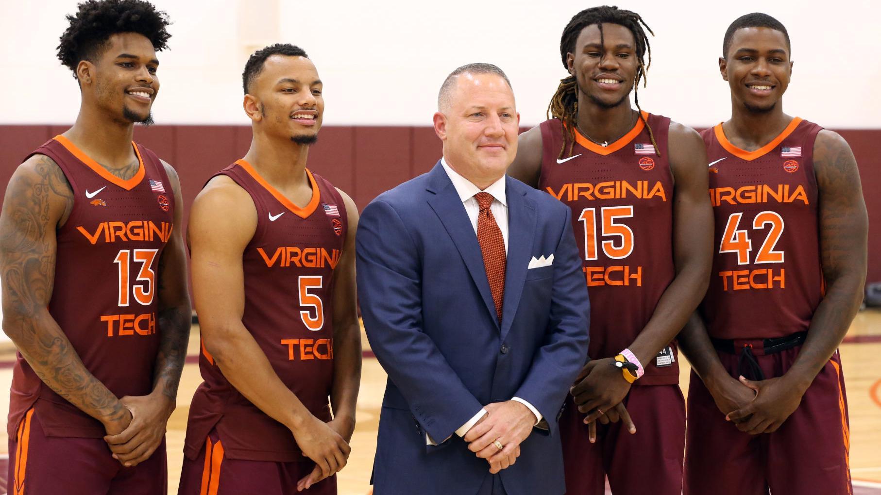 High Expectations For Virginia Tech Men S Basketball Team Virginia Tech Roanoke Com