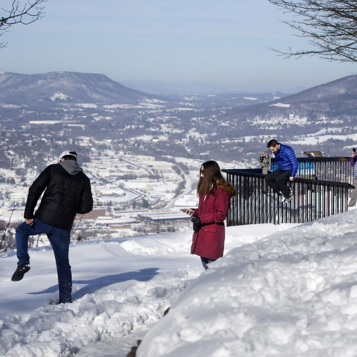 Sunday was Roanoke's snowiest December day on record
