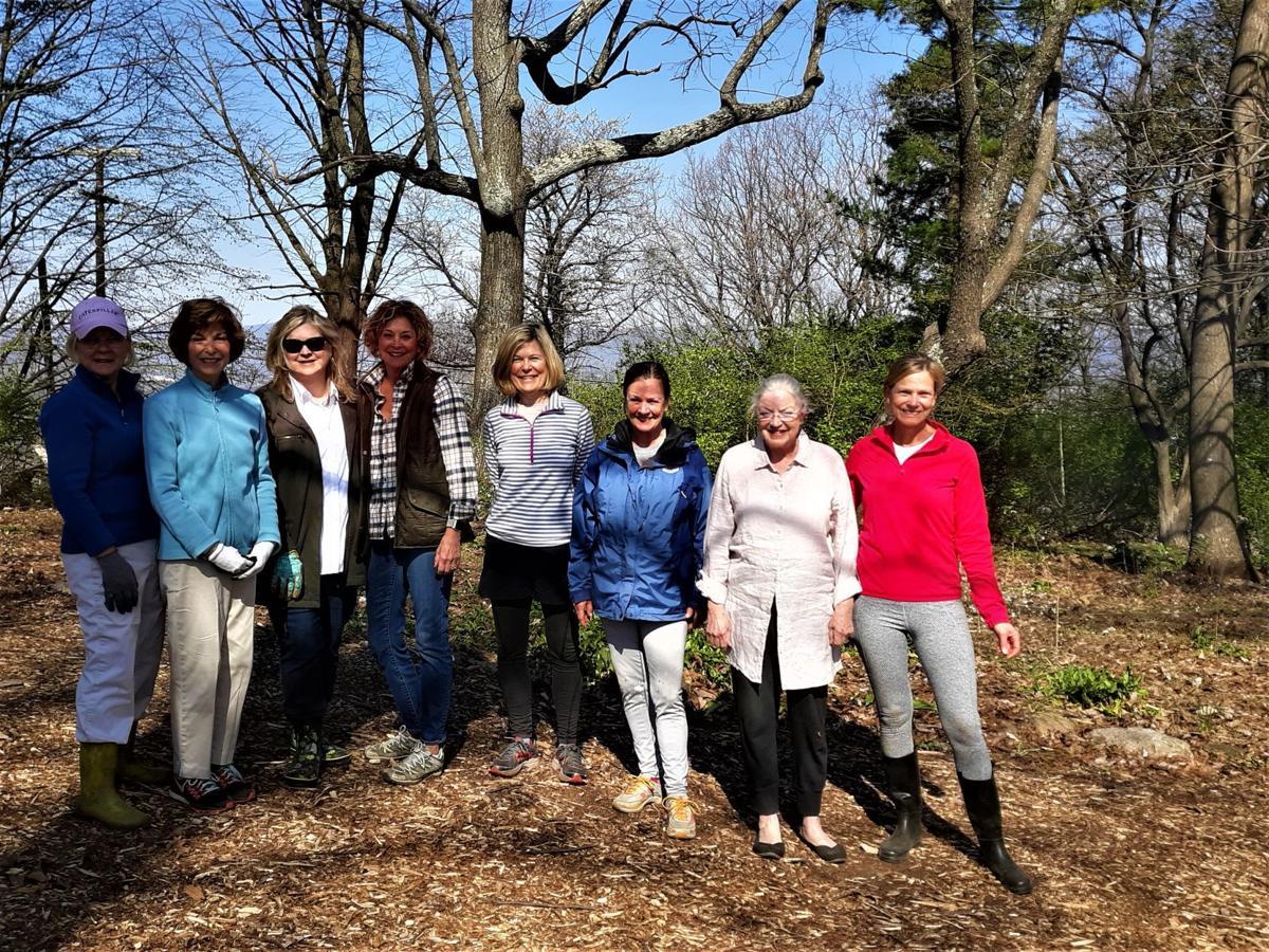 Mill Mountain Garden Club wildflower garden workers April 2019.jpg