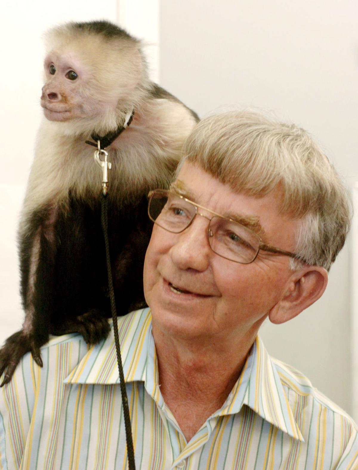 Charlie Harvey, owner of Roanoke pet store with exotic