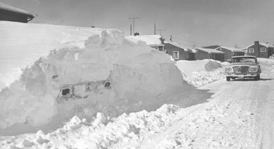 Looking Back At Snows Of December And >> Looking Back The Big Snow Of 1966 Left 20 Inches Covering Roanoke