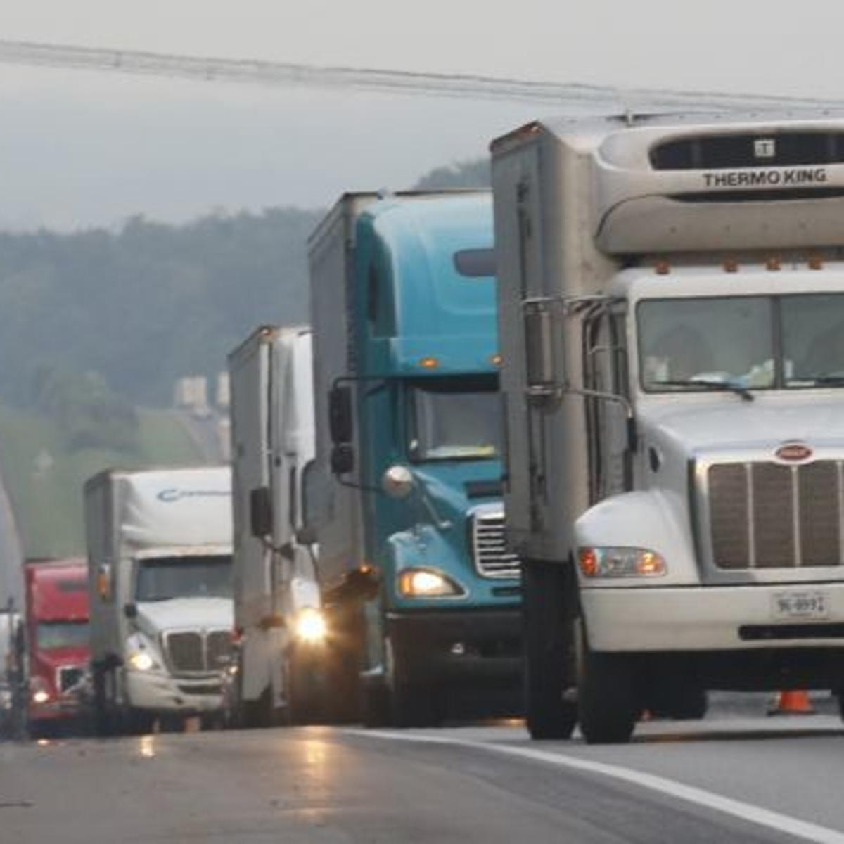 Woym Why Do So Many Trucks Skip The Truck Weigh Station On I 81 Local News Roanoke Com