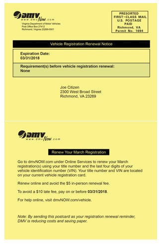 how to change address on motor vehicle registration