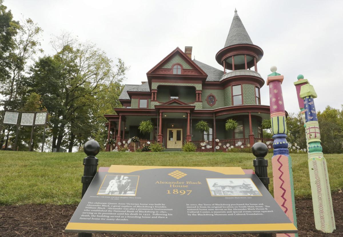 MG Black House upstairs 100919