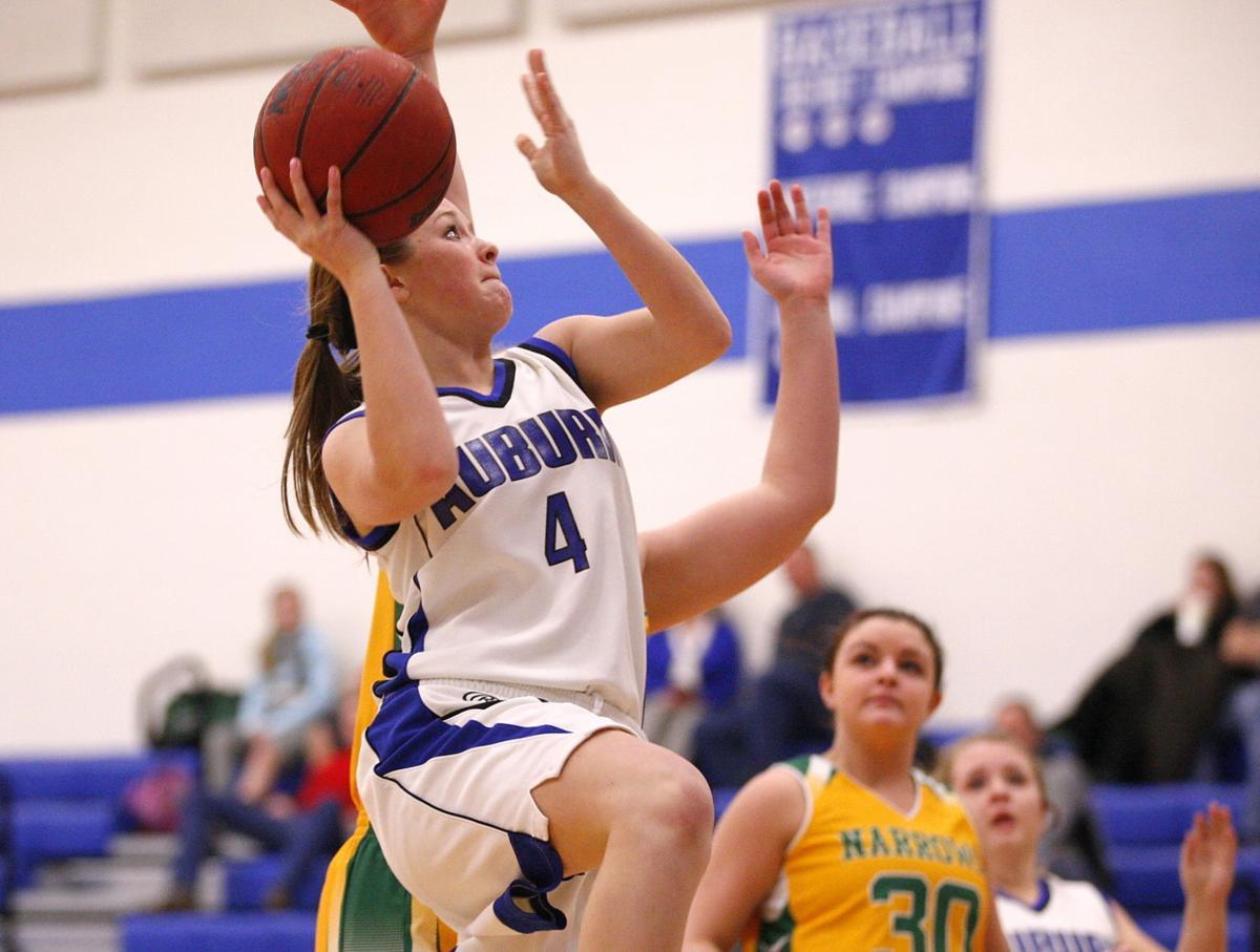 Girls Basketball Narrows 62 Auburn 40 New River Valley