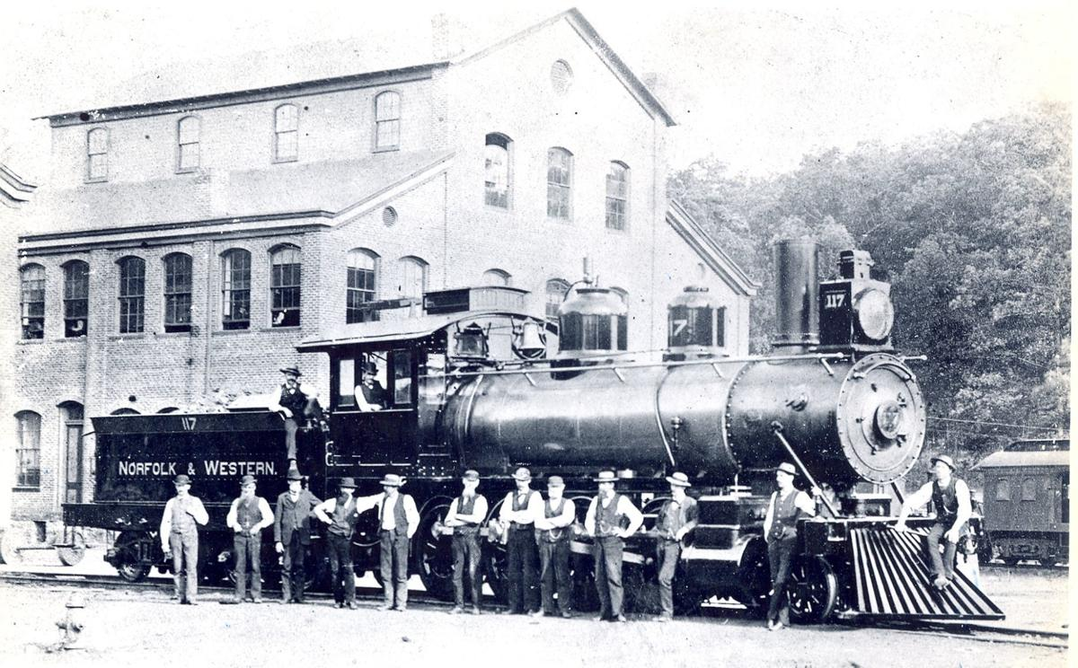 Northern section of Roanoke County Virginia c1864 36x24