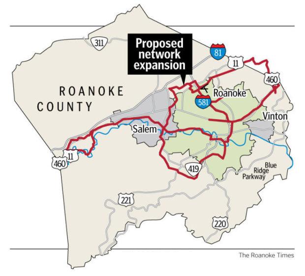 Roanoke Valley localities disagree on open access broadband initiative