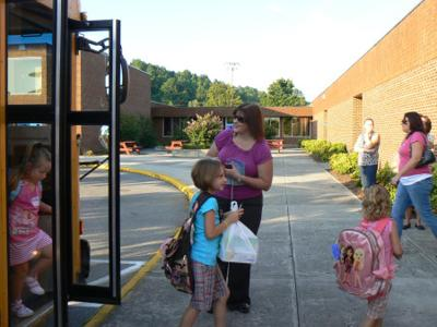 Photo from first day of school at Troutville Elementary | Lifestyles