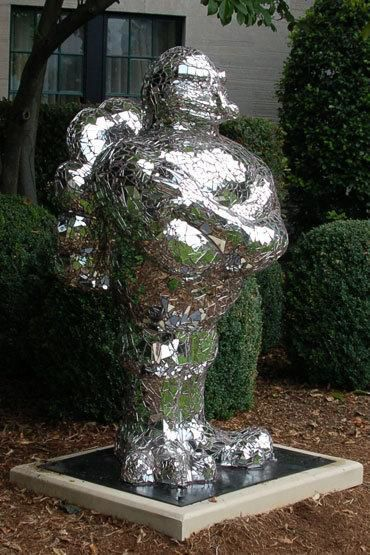 Hokie statue