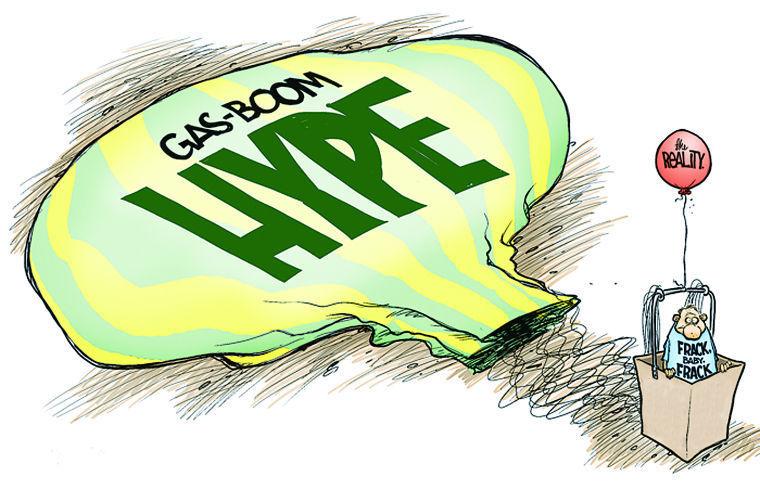 art gas boom hype