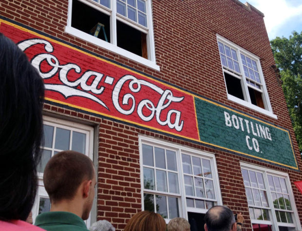 Sign S Restoration Hailed As Part Of Downtown Rocky Mount