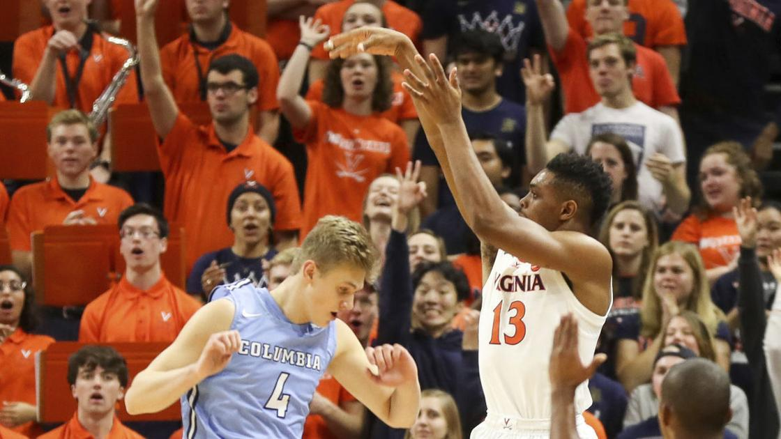 UVa men's basketball: No. 9 Cavaliers top Columbia to improve to 3-0