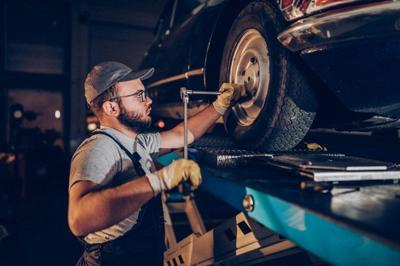 Safety-wise, there's a lot riding on your tires.