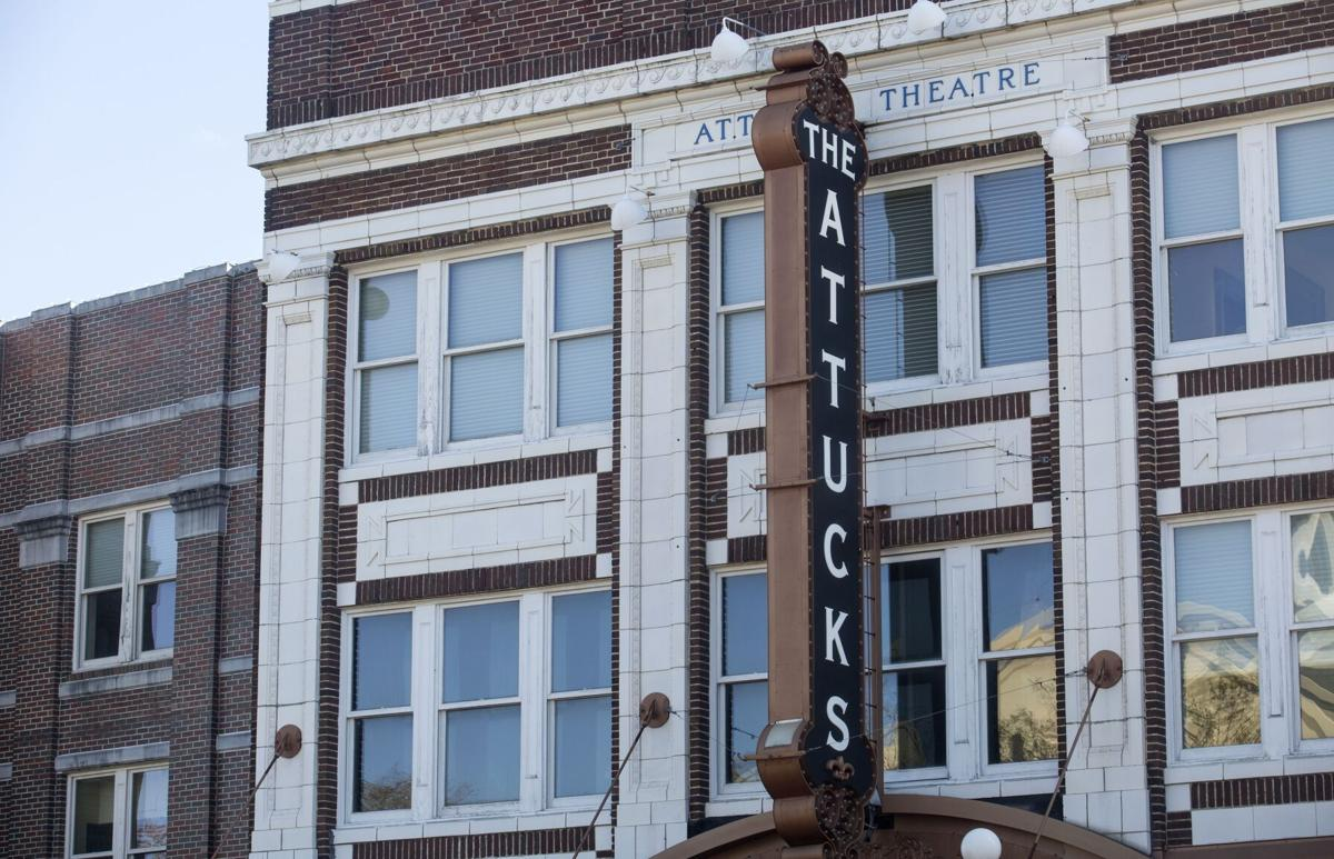 """The Attucks Theatre on Church Street in Norfolk in 2020. The theatre, then called the Booker T. Theatre, was one of dozens of local businesses listed in the early 20th-century """"Green Book"""" guide that advised Black Americans where was safe to patron."""