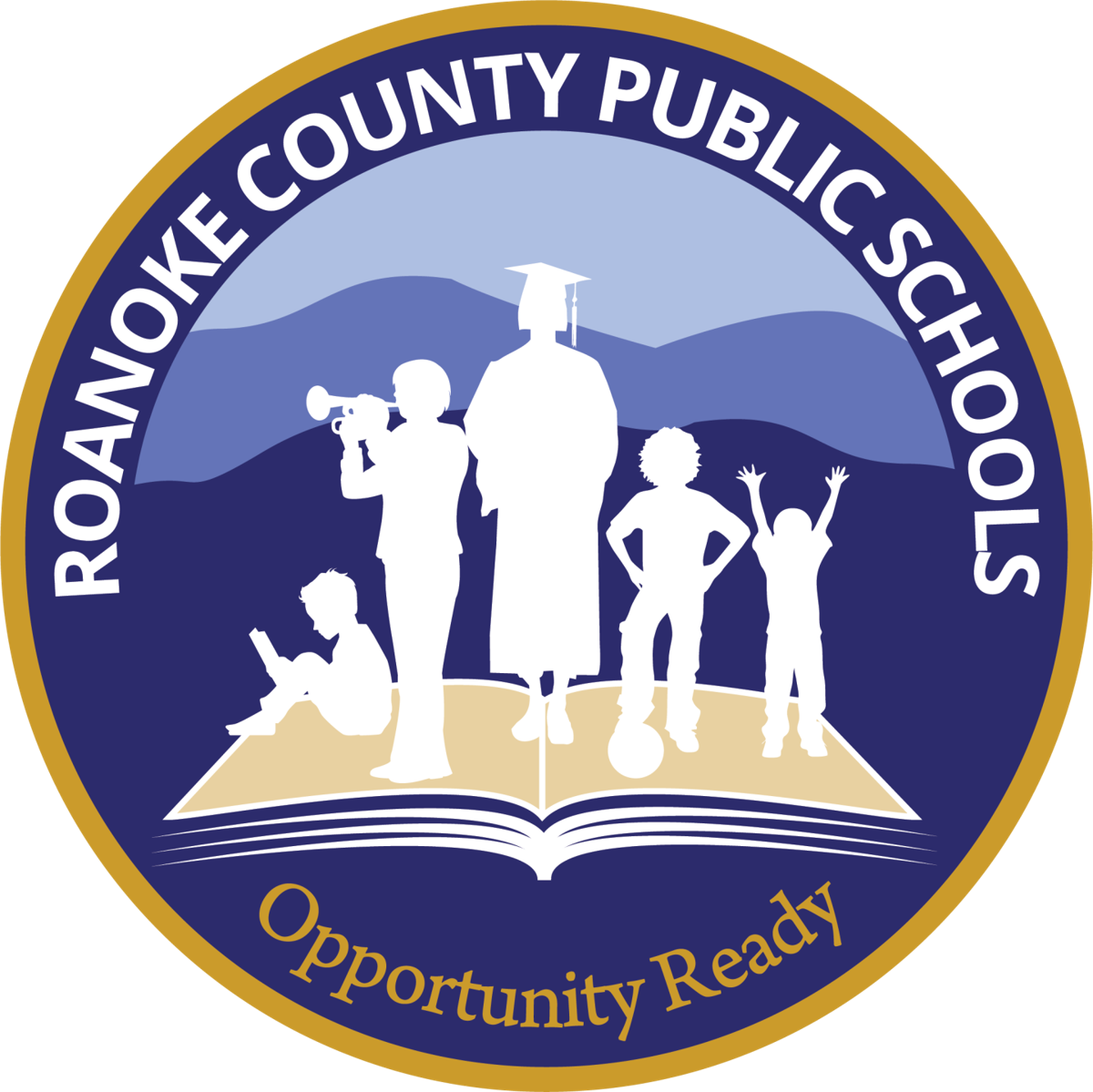 New Roanoke County Public Schools Logo