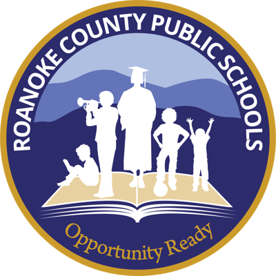 New Roanoke County Public Schools Logo stockart