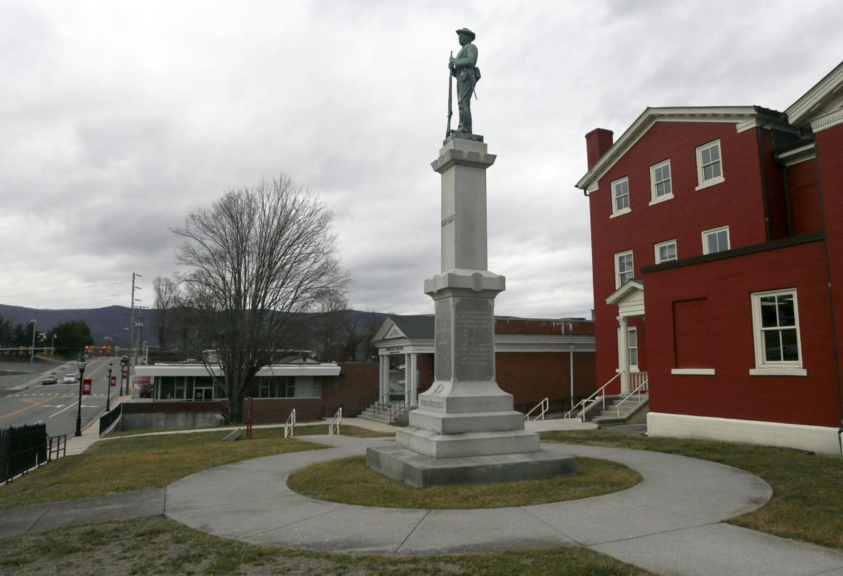 MG Giles Confederate monument 021020